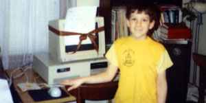 Dave as a kid